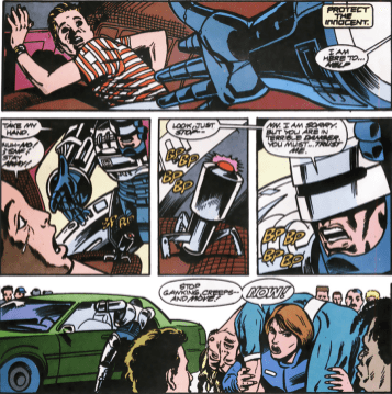 RoboCop #12-Last-Second Rescue!