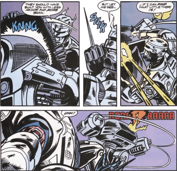 RoboCop #13-More Robotic Clashes!