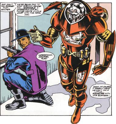 RoboCop #14-Flak Among Men!