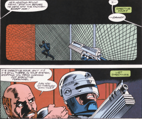 RoboCop #15-Can't Pull The Trigger!