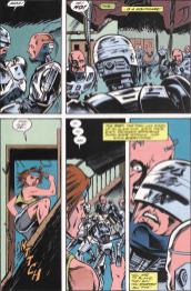RoboCop #15-When Cyborgs Attack!