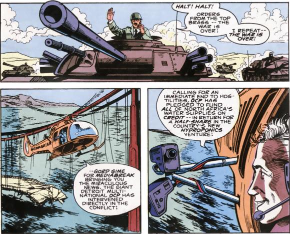 RoboCop #6-War Is Over!