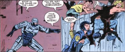 RoboCop #8-Get Back Here, Felons!