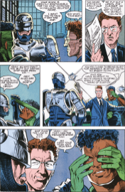 RoboCop #9-Who Should Run The Crime-Busting Around Here!