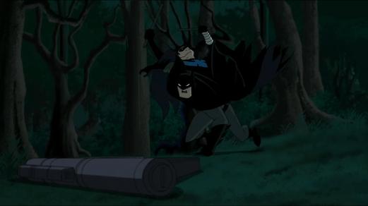 Batman-Roughed Up!