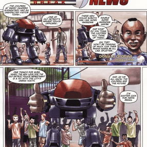 Dynamite's RoboCop #2-ED's Too Cool For School!