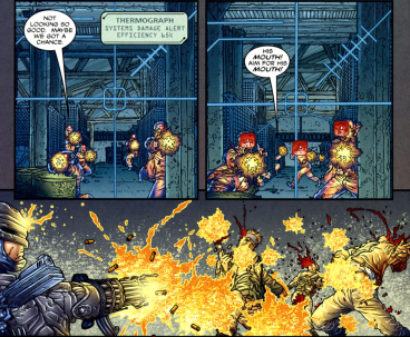 Frank Miller's RoboCop #1-One-Sided Shootout!