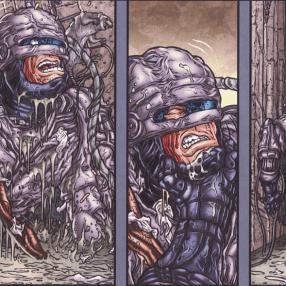 Frank Miller's RoboCop #6-Underground Escape!