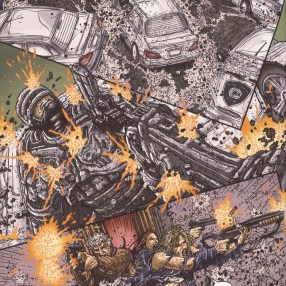 Frank Miller's RoboCop #8-Here Comes The Law!