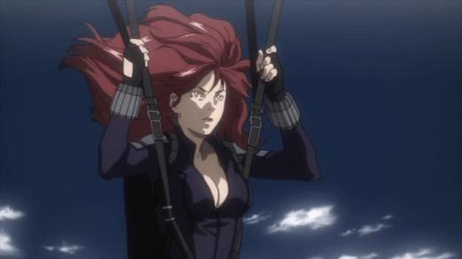 Black Widow-Fallen In Defeat!
