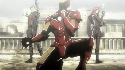 Black Widow-Surrender, Stark!