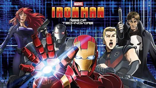 Iron Man-Rise Of Technovore!
