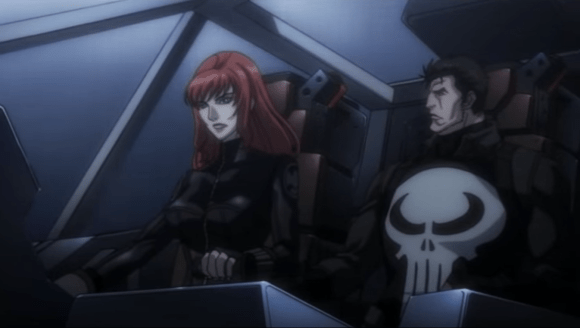 Black Widow & Punisher-Let's See What We've Got!