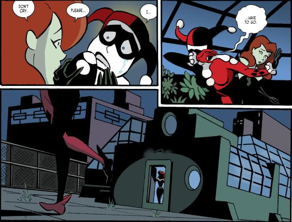 Harley Quinn & Batman #4-Tearful Departure!