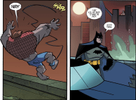 Batman & Harley Quinn #1-Taking A Dive!