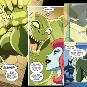 Batman & Harley Quinn #2-Killer Croc's Not So Different From You, Ivy!
