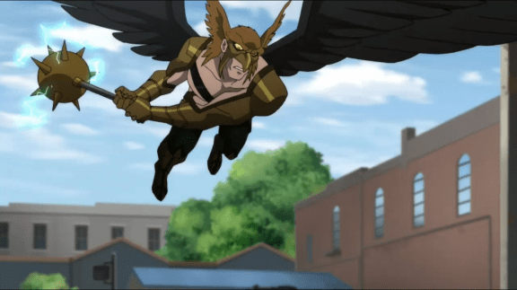 Hawkman-Like A Soaring Angel!
