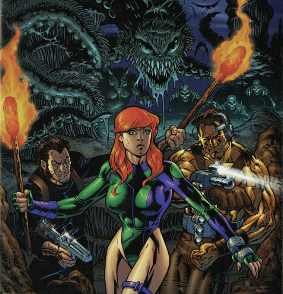 Wildstorm Halloween T.O.T. Cover!