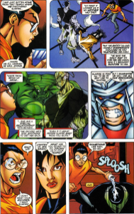 Sunfire & Big Hero Six #2-Arguing To Agree!