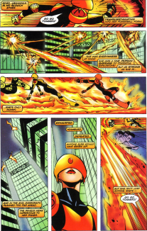 Sunfire & Big Hero Six #3-Bouncing Around To No Avail!