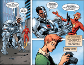 D.O.S. Issue #5-Superheroic Details!