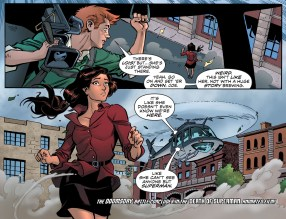 D.O.S. Issue #8-Time To Go, Lois!