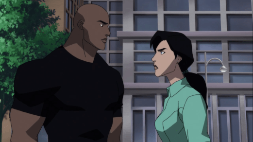 John Henry Irons-I'll Look For An Intergang Connection & You Learn From Lex, Lois!