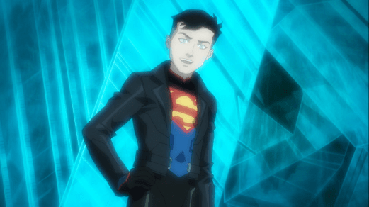 Superboy-Hi, Dad!