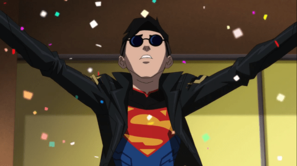 Superboy-I Know How To Make An Entrance!.png
