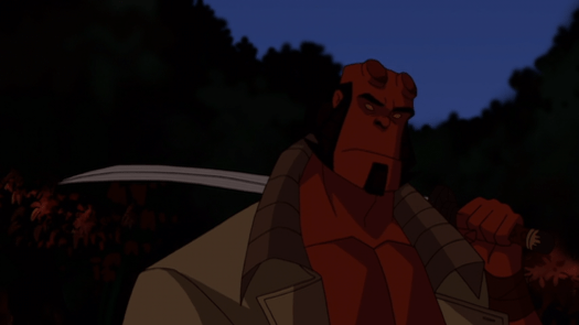 Hellboy-The Unlikely Swordsman!