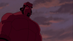 Hellboy-Aren't I Supposed To Have A Massive Wound!