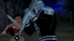 Wonder Woman-A Bashing Of Blades!