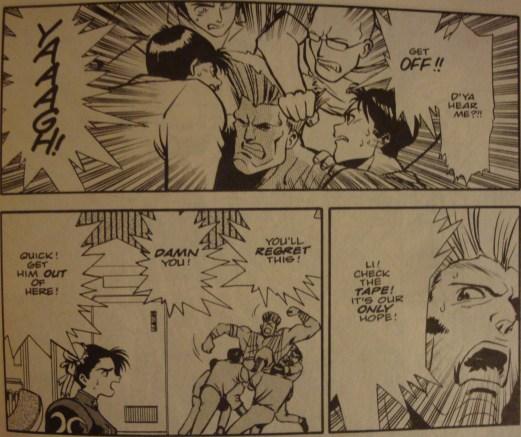 Street Fighter II #3-Medical Take Down!