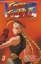 Street Fighter II-Animated Movie #3 Cover!
