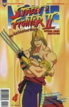 Street Fighter II-Animated Movie #4 Cover!
