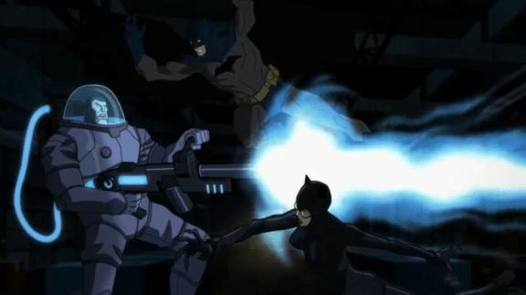 Batman & Catwoman-Mr. Freeze Thawed!