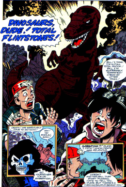 Excellent Comic #2-Our Own Dino Crisis!