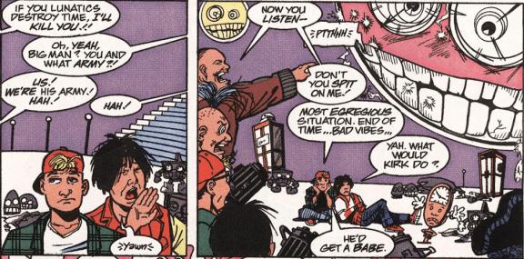 Excellent Comic #7-A Clash Of Commanding Egos!
