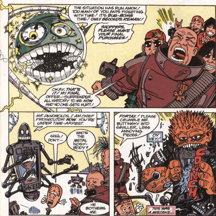 Excellent Comic #7-You Shall Not Arrest Me!