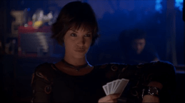 Huntress-Mistress Of Strip Poker!
