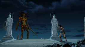 Wonder Woman-You Can Still Take The High Road, Medusa!