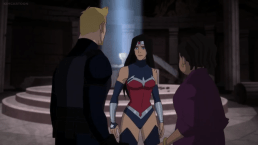 Wonder Woman-You're Both Safe!