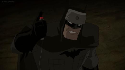 Batman-Death Before Slavery!