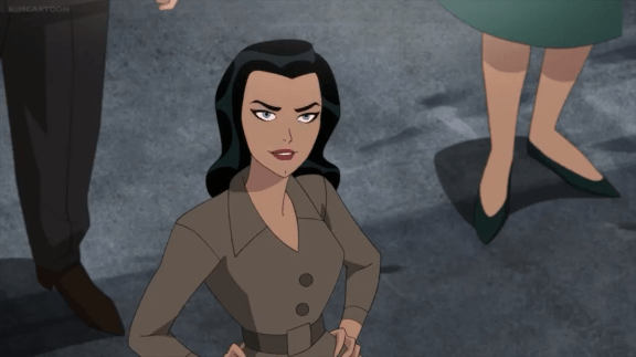 Lois Lane-Supes Is Afraid Of An Interview!