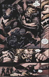 X2 Prequel Wolverine-From Brawler To Blacked Out!