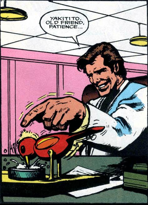 Darkman Movie Adaptation #1-Patient Birdy!