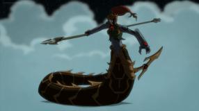 Mera-Darkseid's Sinister Serpent!