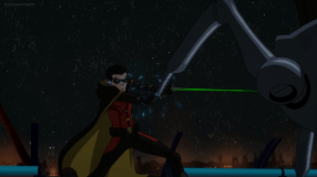 Robin-Fighting An Not-So Friendly Alien On A Hostile Alien World!