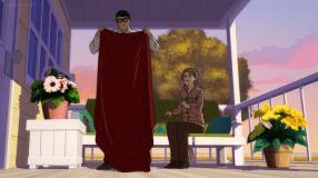 Clark Kent-Cool Cape, Ma!