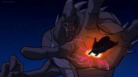Superman-Sacrificial Save!